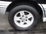 Chevrolet Tracker Wheels and Tires