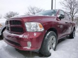 2015 Deep Cherry Red Crystal Pearl Ram 1500 Express Crew Cab 4x4 #101607526