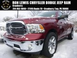 2015 Deep Cherry Red Crystal Pearl Ram 1500 SLT Quad Cab 4x4 #101607523