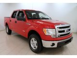 2014 Vermillion Red Ford F150 XLT SuperCrew 4x4 #101639662