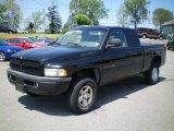 1998 Black Dodge Ram 1500 Sport Extended Cab 4x4 #10143494