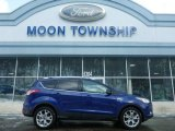 2014 Deep Impact Blue Ford Escape Titanium 2.0L EcoBoost 4WD #101639512
