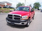 2006 Flame Red Dodge Ram 1500 ST Regular Cab #10143495