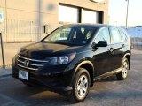 2014 Crystal Black Pearl Honda CR-V LX AWD #101666634