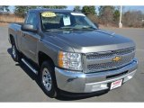 2013 Graystone Metallic Chevrolet Silverado 1500 Work Truck Regular Cab #101666586