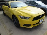 2015 Triple Yellow Tricoat Ford Mustang V6 Coupe #101666366