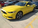 Triple Yellow Tricoat Ford Mustang in 2015