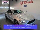 2015 Ingot Silver Metallic Ford Mustang V6 Coupe #101666347