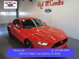2015 Competition Orange Ford Mustang EcoBoost Coupe #101666343