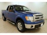 2014 Blue Flame Ford F150 XLT SuperCab 4x4 #101666562