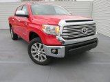 2015 Radiant Red Toyota Tundra Limited CrewMax 4x4 #101666453