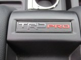 2015 Toyota Tundra TRD Pro CrewMax 4x4 Marks and Logos