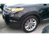 2014 Tuxedo Black Ford Explorer XLT #101696992