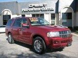 2007 Vivid Red Metallic Lincoln Navigator Luxury #10156640