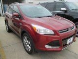 2015 Sunset Metallic Ford Escape Titanium #101722003