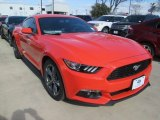 2015 Competition Orange Ford Mustang V6 Coupe #101722001