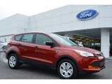 2015 Sunset Metallic Ford Escape S #101722013