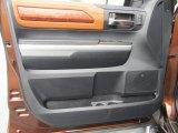 2015 Toyota Tundra 1794 Edition CrewMax 4x4 Door Panel