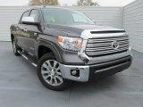 2015 Magnetic Gray Metallic Toyota Tundra Limited CrewMax #101726308