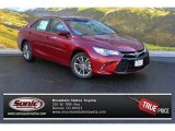 2015 Ruby Flare Pearl Toyota Camry SE #101726090