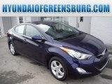 2012 Indigo Night Blue Hyundai Elantra GLS #101726078