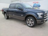 2015 Blue Jeans Metallic Ford F150 King Ranch SuperCrew 4x4 #101726145