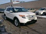 2014 White Platinum Ford Explorer Limited 4WD #101726289