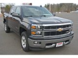 2015 Tungsten Metallic Chevrolet Silverado 1500 LT Crew Cab #101726481