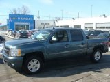 Blue Granite Metallic Chevrolet Silverado 1500 in 2010