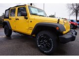 2015 Jeep Wrangler Unlimited Baja Yellow