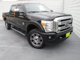 2015 Tuxedo Black Ford F250 Super Duty Platinum Crew Cab 4x4 #101726329