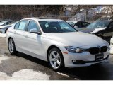 2014 Mineral White Metallic BMW 3 Series 328i xDrive Sedan #101764592