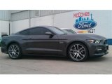 2015 Magnetic Metallic Ford Mustang GT Premium Coupe #101764619