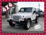 2006 Stone White Jeep Wrangler Rubicon 4x4 #101764799