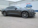 2015 Magnetic Metallic Ford Mustang GT Premium Coupe #101764605