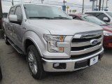 2015 Ingot Silver Metallic Ford F150 Lariat SuperCrew 4x4 #101764603
