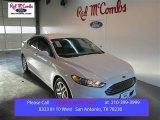 2015 White Platinum Metallic Ford Fusion SE #101764599