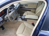 2007 BMW 7 Series Interiors