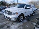 2012 Bright White Dodge Ram 1500 Laramie Longhorn Crew Cab 4x4 #101764893