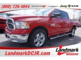 2015 Flame Red Ram 1500 Lone Star Crew Cab #101800345
