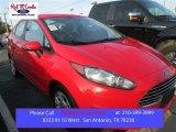 2015 Race Red Ford Fiesta SE Sedan #101800200