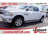 2014 Bright White Ram 1500 Laramie Longhorn Crew Cab 4x4 #101800316