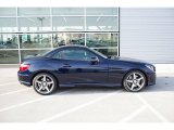 2015 Mercedes-Benz SLK Lunar Blue Metallic