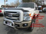 2012 Oxford White Ford F250 Super Duty King Ranch Crew Cab 4x4 #101827023