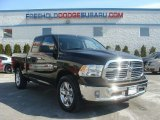 2014 Black Gold Pearl Coat Ram 1500 SLT Quad Cab 4x4 #101827079