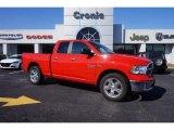 2014 Flame Red Ram 1500 Big Horn Quad Cab 4x4 #101826888