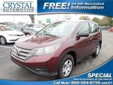 2013 Basque Red Pearl II Honda CR-V LX #101859841