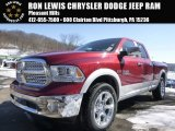 2015 Deep Cherry Red Crystal Pearl Ram 1500 Laramie Quad Cab 4x4 #101883811