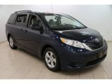 2011 South Pacific Blue Pearl Toyota Sienna LE #101887198