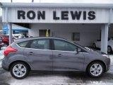 2012 Sterling Grey Metallic Ford Focus SEL 5-Door #101887036